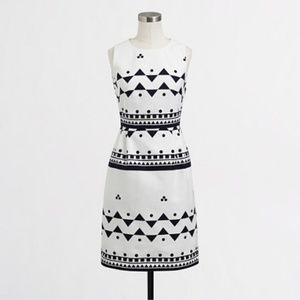 Women's J Crew Sleeveless Printed Textured Cotton